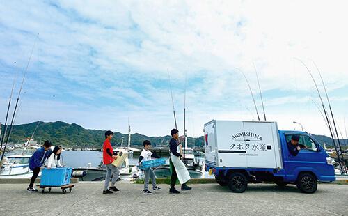 淡路島の新鮮な魚をあなたに